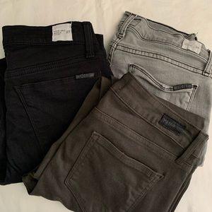 Hudson jeans washed grey Harkin 28